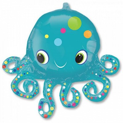 ❗❗Праздник на ура.❗❗Елочные украшения. — Фольгированные шары с рисунком и надписью большие. — Воздушные шары, хлопушки и конфетти