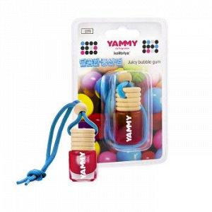 "Ароматизатор подвес. ""Yammy"" бутылек ""Bublle Gum"" 4мл."