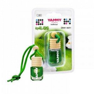 "Ароматизатор подвес. ""Yammy"" бутылек ""Green Apple"" 4мл."