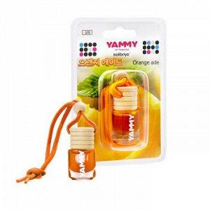 """Ароматизатор подвес. """"Yammy"""" бутылек """"Orange ade"""" 4мл."""