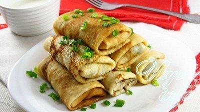 ПОЧТИ ГОТОВО!👍Быстро и вкусно! Замороженные полуфабрикаты  — Блинчики и сырники — Тесто и мучные изделия