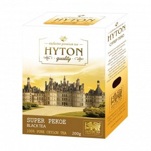 Чай Хайтон черный Супер Пеко PEKOE 200г RUHUNA