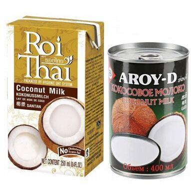🍣АА: АЗБУКА АЗИИ Только импортные продукты! — {🥥Кокосовые продукты} Mолоко, масло и вода — Азия