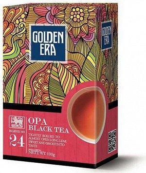 Чай GOLDEN ERA CEYLON BLACK TEA OPA 100 гр 1/40