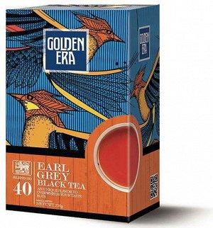 Чай GOLDEN ERA CEYLON BLACK TEA EARL GREY PEKOE с бергамотом 1/24