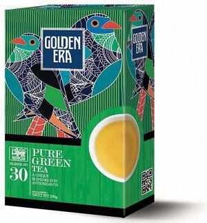 Чай GOLDEN ERA CEYLON GREEN TEA PEKOE зеленый 200 гр 1/24