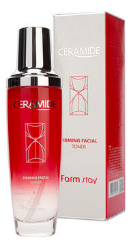 FarmStay Ceramide Firming Facial Toner Укрепляющий тонер для лица с керамидами, 130 мл