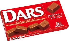 MORINAGA DARS Молочный шоколад