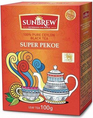Чай SUNBREW SUPER PEKOE 100г 1/40