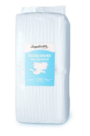 Подгузники для взрослых ЭлараHEALTH, размер XL, 30шт