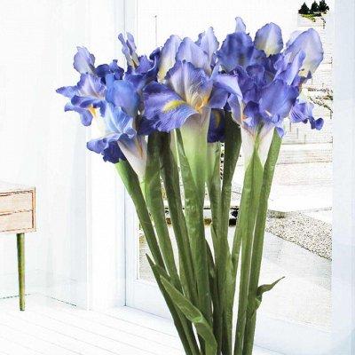 🌹Искусственные цветы для декора!🌸Родительский день🥀 — Ирисы  — Искусственные растения