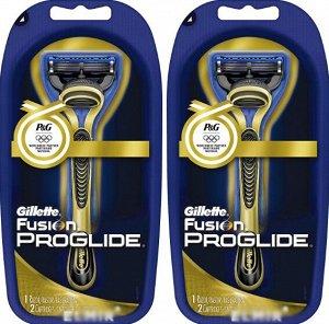 FUSION ProGlide Power Gold Бритва с 1 сменной кассетой