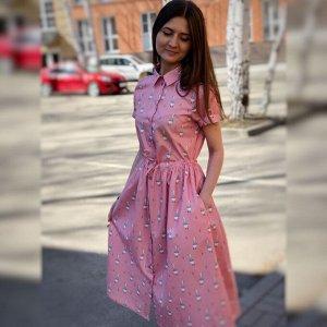Рубашка-Платье «Гуси гуси»