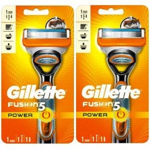 GILLETTE FUSION Power Бритва с 1 сменной кассетой