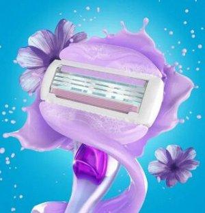 VENUS SPA Breeze Бритва с 2 сменными кассетами (cо встроенными полосками с гелем для бритья)
