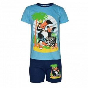 Комплект футболка и шорты для мальчиков арт. ММ 005-3