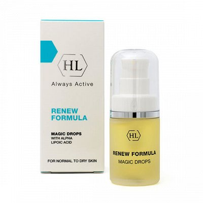 Holy Land  косметический уход для любого типа кожи   — RENEW Formula - Линия для нормальной и сухой кожи — Для лица