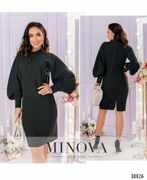 Платье №061-1-чёрный