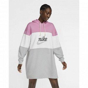 Платье женское Модель: W NSW VRSTY HOODIE DRESS FT Бренд: Ni*ke