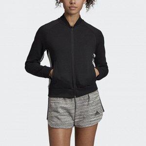 Куртка женская Модель: W MH 3S DK JKT BLACK/WHITE Бренд: Adi*das
