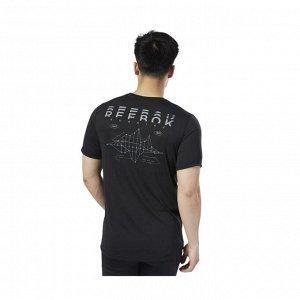 Футболка мужская Модель: RE SS CF TEE BLACK Бренд: Reeb*ok
