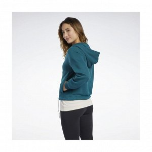 Джемпер женский Модель: TE Textured Logo FullZip Бренд: Reeb*ok