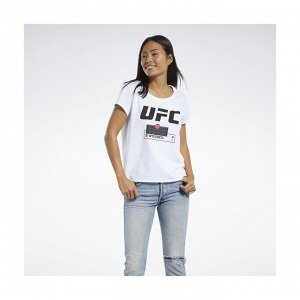 Футболка женская Модель: UFC FG FIGHT WEEK TEE Бренд: Reeb*ok