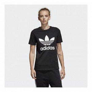Футболка женская Модель: TREFOIL TEE black,wh Бренд: Adi*das