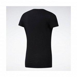 Футболка женская Модель: WOR COMM Tee BLACK Бренд: Reeb*ok