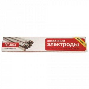 Электроды сварочные МР-3, РЕСАНТА, диаметр 3 мм, пачка 1 кг,