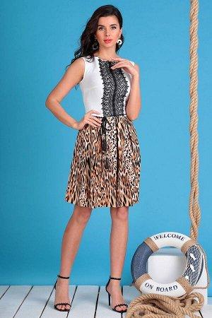 Платье Мода Юрс 2326 леопард