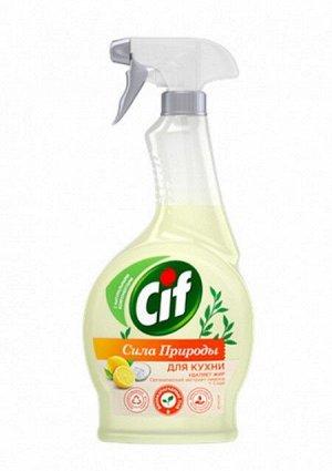 Чист.средство CIF 500мл д/кухни Сила Природы