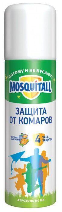 Аэрозоль MOSQUITALL 150мл Защита д/взрослых от комаров