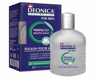 Лосьон п/бритья DEONICA FOR MEN 90мл Д/чувствительной кожи