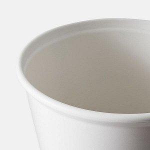 ИКЕА ПС ФЕЙО Горшок с самополивом, белый, 32 см
