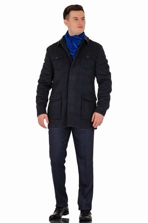 Пальто Сезон демисезонные. Цвет серый. Состав шерсть-75%, вискоза-15%, полиэстер-10%. Бренд Svyatnyh