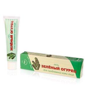 Зеленый огурец гель для проблемной кожи лица, 50 г