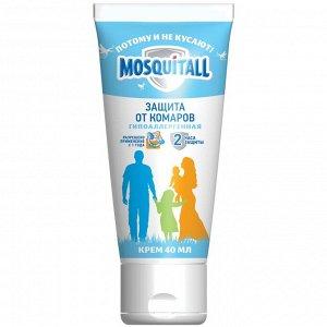 Крем MOSQUITALL 40мл Гипоаллергенная защита от комаров