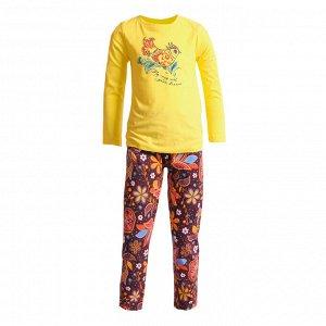 Пижама для девочек арт 11115-2
