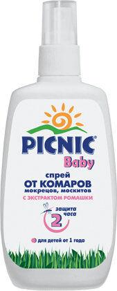 Спрей PICNIC BABY Комары 120мл