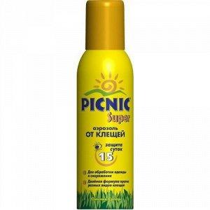 Средство PICNIC FAMILY 125см3 акарицидное Super защита от клещей