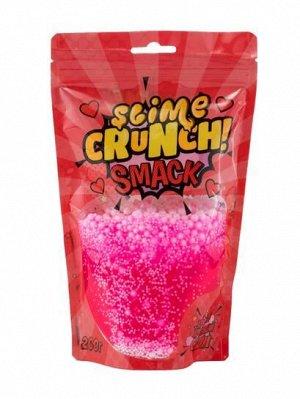 Crunch-slime SMACK с ароматом земляники, 200 г