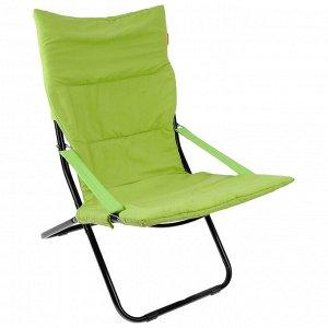 Кресло-шезлонг HHK4/G, 85 x 64 x 86 см, киви