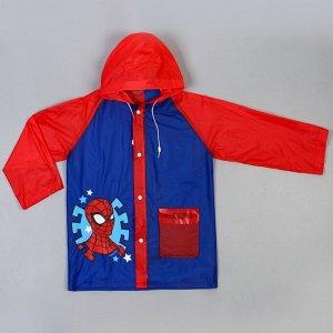 Дождевик детский, Человек-паук, размер L