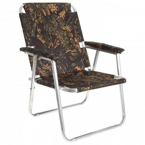 Кресло-шезлонг №2 «Медведь», до 120 кг, цвета МИКС
