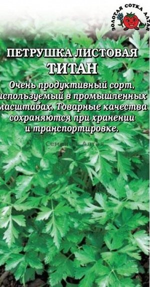 Петрушка листовая Титан ЦВ/П (Сотка) РЭМ