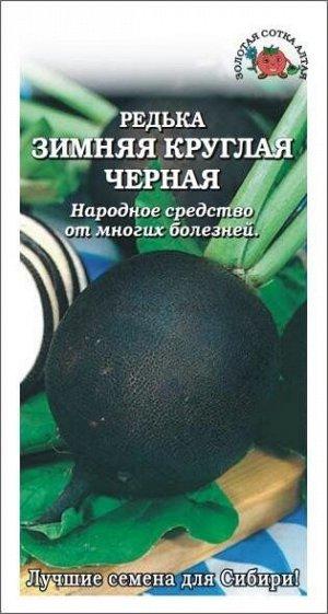 Редька Чёрная ЦВ/П (Сотка) 1гр среднеспелый