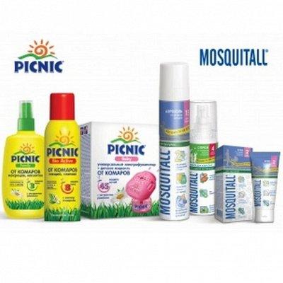 Удаление любых неприятных запахов — MOSQUITALL/PICNIC (ср-ва от  комаров и клещей) — Другое