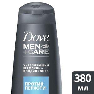NEW Шампунь-кондиц. DOVE Men+Care 380мл 2 в1 Против перхоти