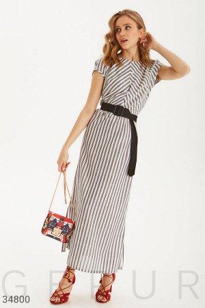 Платье-макси из легкой ткани